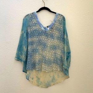 Aratta Silent Journey silk blouse